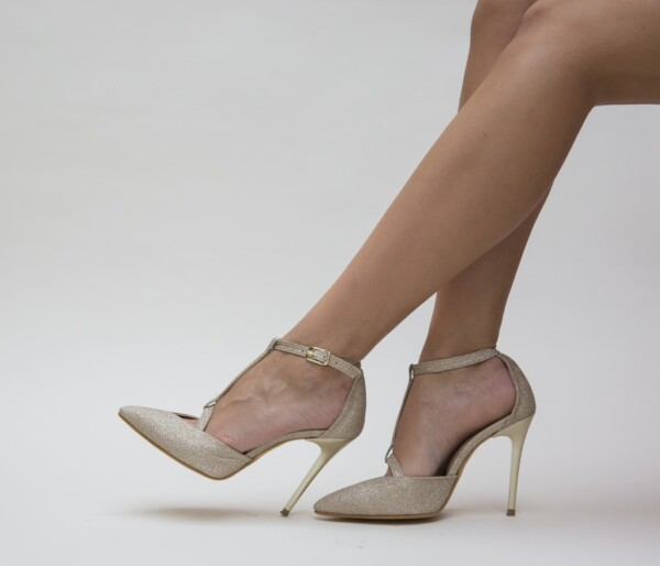 Pantofi Ola Aurii
