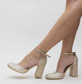 Pantofi Gipsy Aurii