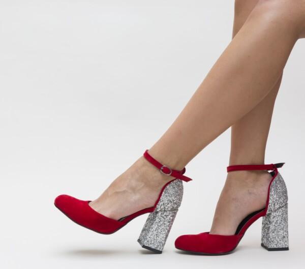 Pantofi Gipsy Rosii