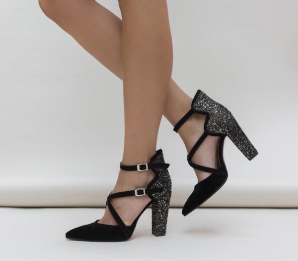 Pantofi Wils Gri