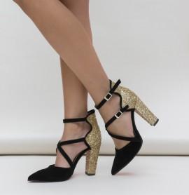 Pantofi Wils Aurii