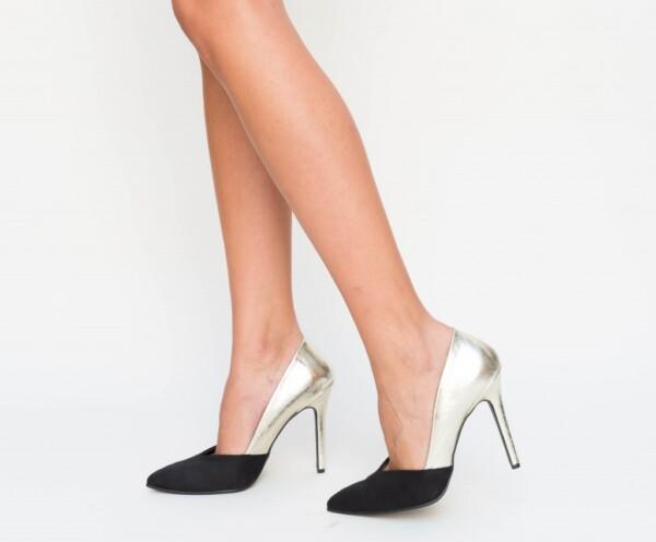 Pantofi Lory Aurii