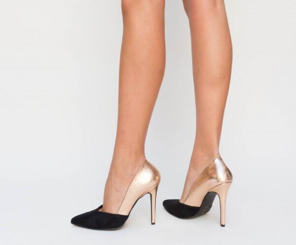 Pantofi Lory Bronz