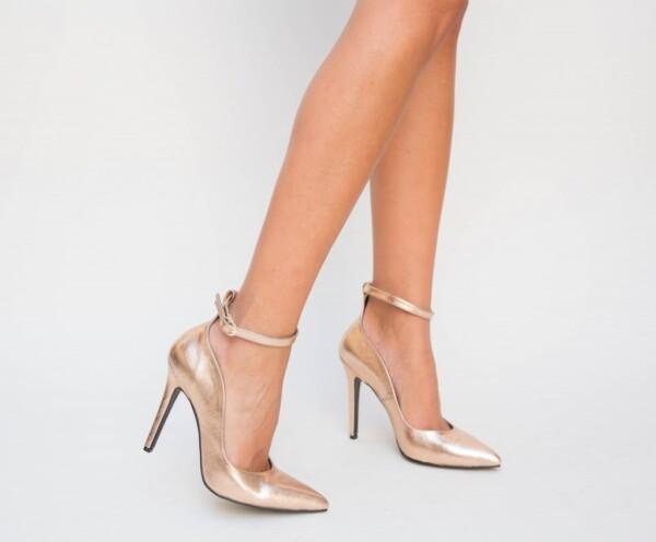 Pantofi Sabeta Aurii 2