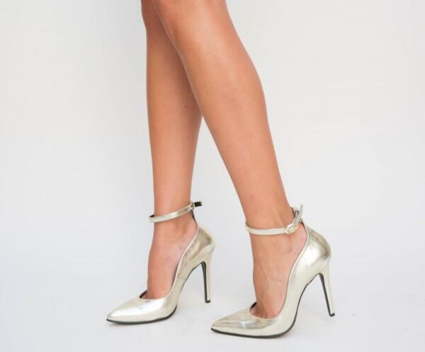 Pantofi Sabeta Aurii