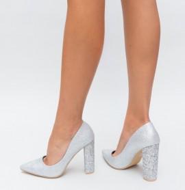 Pantofi Kilo Argintii