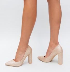 Pantofi Kilo Aurii
