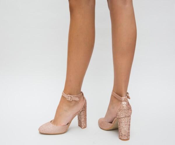 Pantofi Jingo Aurii 2