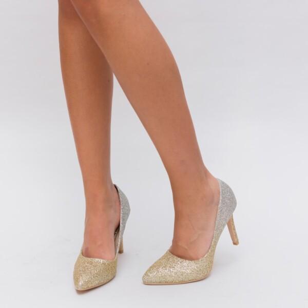 Pantofi Givisa Aurii