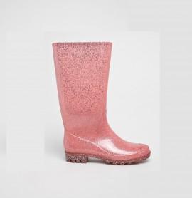 Cizme cauciuc roz