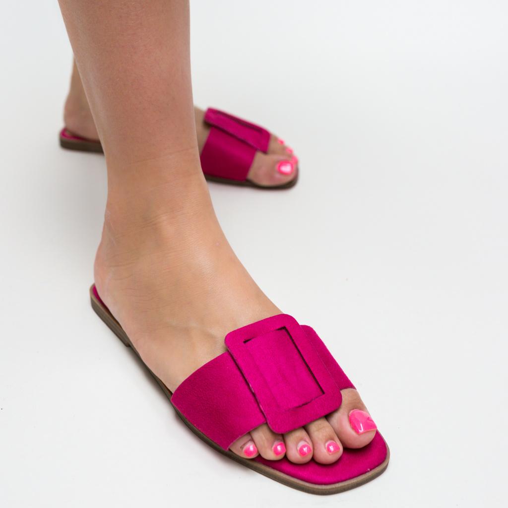 Papuci Trufles Fuchsia