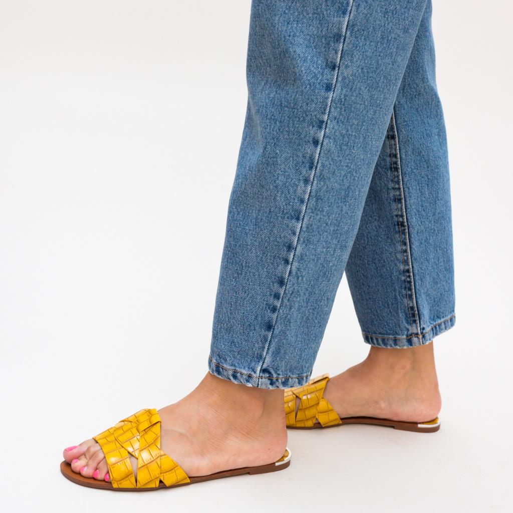 Papuci Zagara Galbeni