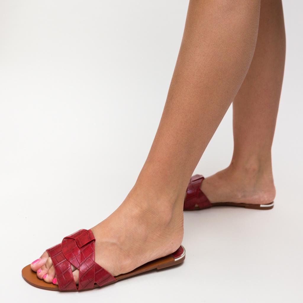Papuci Zagara Rosii