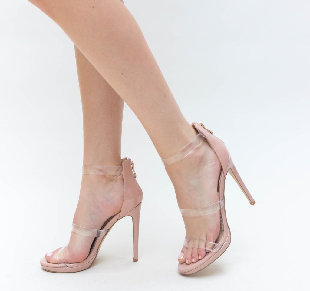 Sandale Avec Nude