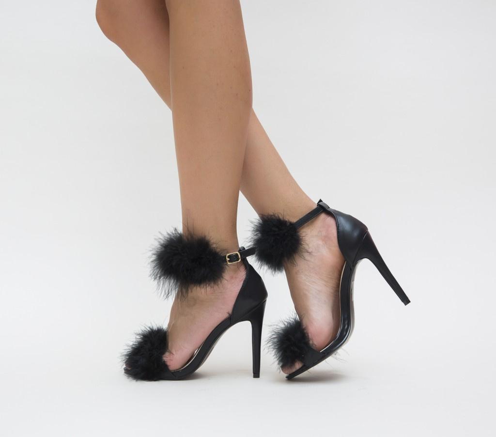 Sandale Suarez Negre